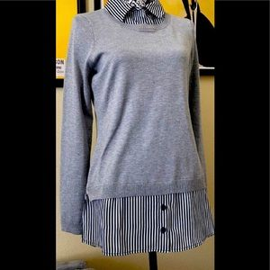 *BOGO ITEM* ADRIANNA PAPELL LAYERED SWEATER
